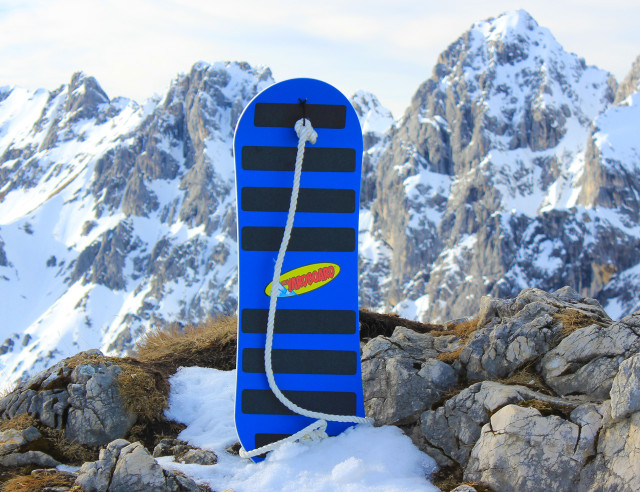 Spooner Board toy for the mountains
